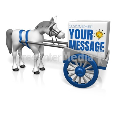 Cart Before the Horse Presentation clipart