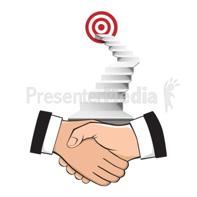 Agreement With A Goal Presentation clipart