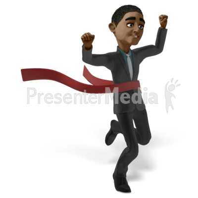 Ethan Race Raise Hands Presentation clipart