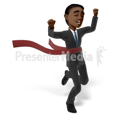Brad Race Raise Hands Presentation clipart