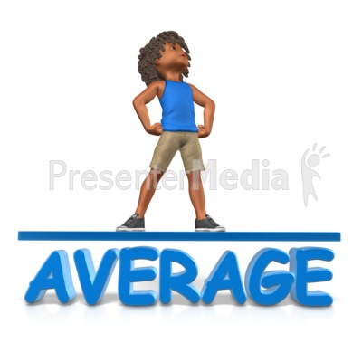 Kid Student Above Average Presentation clipart