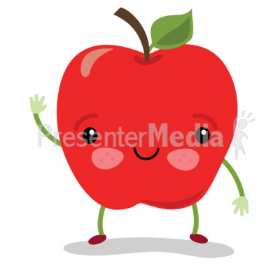 Apple Sam Wave Presentation clipart
