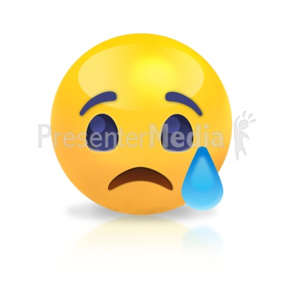 Sphere Sad Presentation clipart