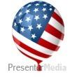 American Balloon Presentation Clipart