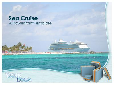 Sea Cruise - A PowerPoint Template from PresenterMedia.com