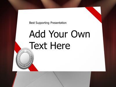 Envelope please a powerpoint template from presentermedia toneelgroepblik Gallery