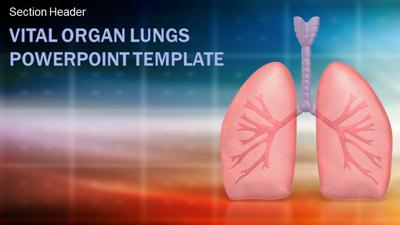 Vital organ lungs a powerpoint template from presentermedia toneelgroepblik Image collections