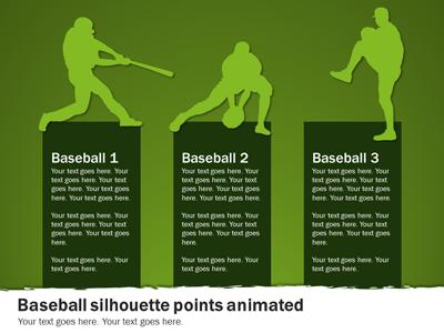 Baseball Playbook A Powerpoint Template From Presentermedia