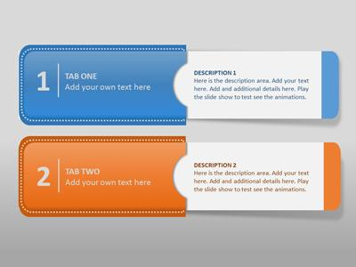 Info tabs a powerpoint template from presentermedia toneelgroepblik Image collections