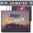 Skies The Limit PowerPoint Template