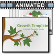 Growth Template PowerPoint Template