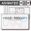 Maze Template Toolkit PowerPoint Template