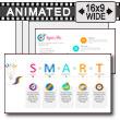 Smart Management Objectives PowerPoint Template