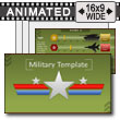 Military PowerPoint Template PowerPoint Template