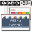 Weekly Planner Template for PowerPoint PowerPoint Template