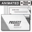 Project Sleek PowerPoint Template