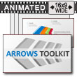 Arrows Diagram Toolkit PowerPoint Template