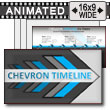 Chevron Timeline for PowerPoint PowerPoint Template