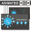 Virus Infographic Template For Powerpoint PowerPoint Template